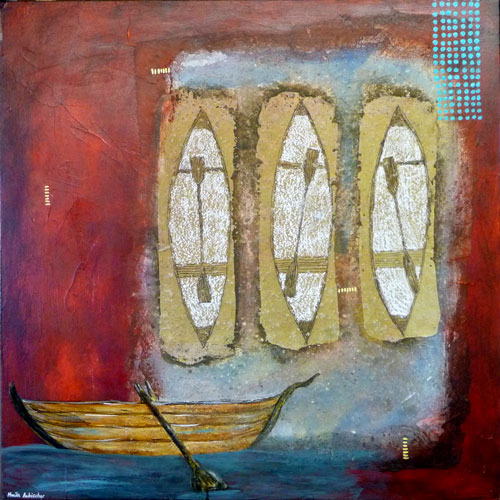 Boat-24x24